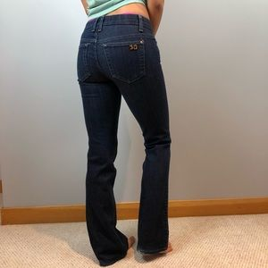 Joe Jeans Dark Denim Wash, Straight Leg.  Size 26